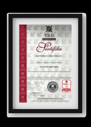 TRB International Sertifika